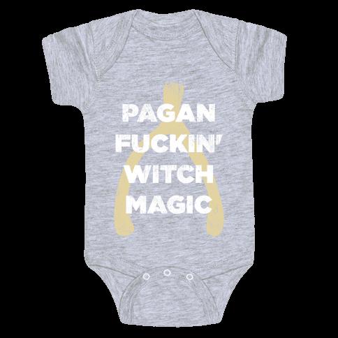 Wishbones are WITCH MAGIC (Long Sleeve) Baby Onesy