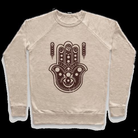 Namaste Hamsa Hand Pullover