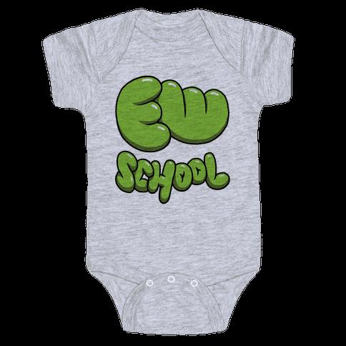 Ew School Baby Onesy