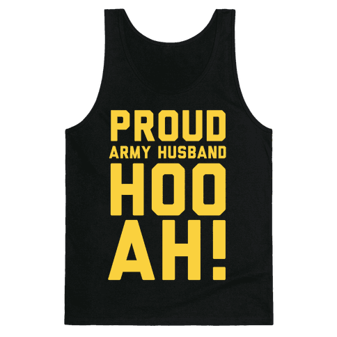Proud Army Husband Tank Top