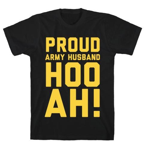 Proud Army Husband T-Shirt