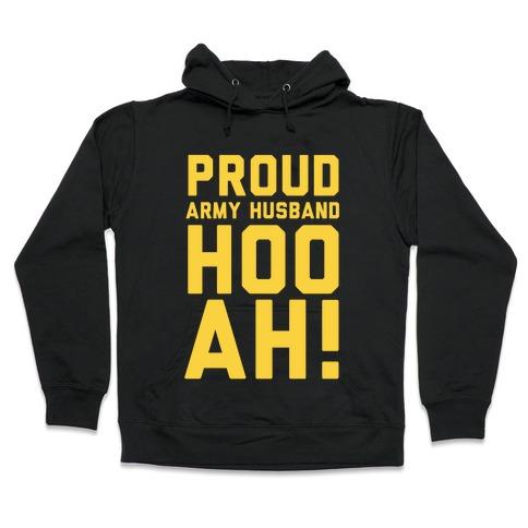 Proud Army Husband Hooded Sweatshirt
