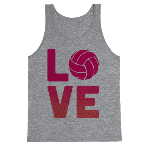 Love Volleyball (V-Neck) Tank Top