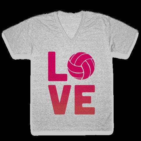 Love Volleyball (V-Neck)