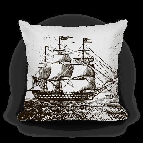 Vintage Ship (Gray)