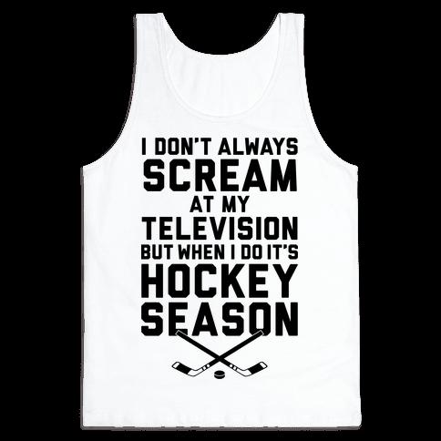 Hockey Season Tank Top