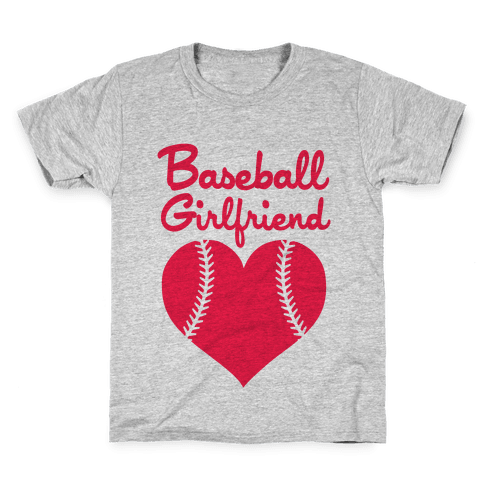 Baseball Girlfriend Kids T-Shirt