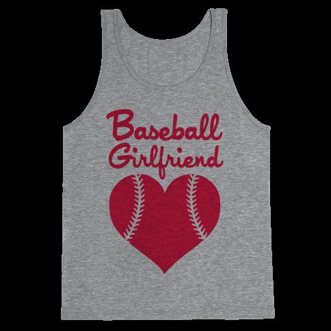 Baseball Girlfriend Tank Top