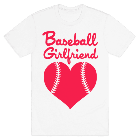 Baseball Girlfriend Mens T-Shirt