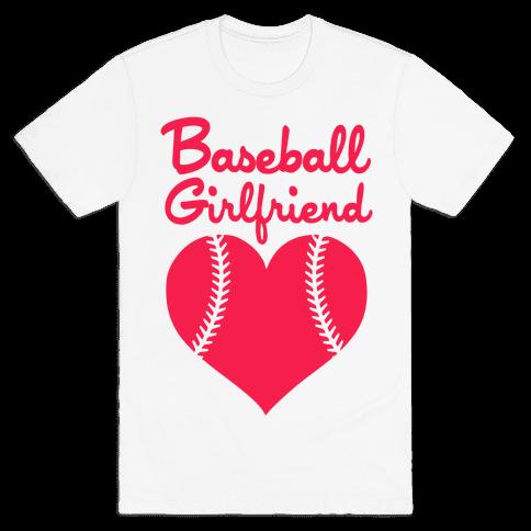 Baseball Girlfriend Mens T-Shirt