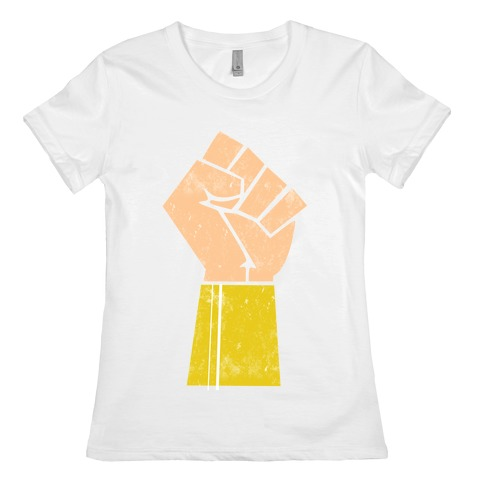 The Wonder of her Fists Womens T-Shirt