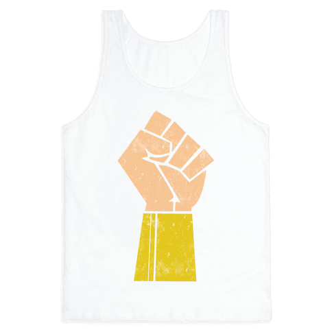 The Wonder of her Fists Tank Top