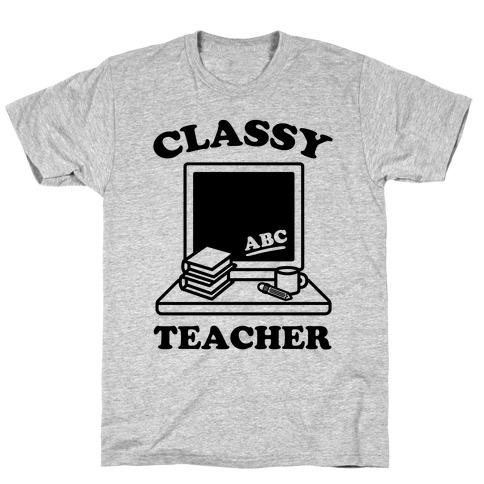 Classy Teacher Mens/Unisex T-Shirt
