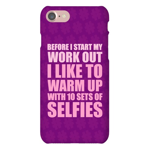Selfie Warm Up Phone Case