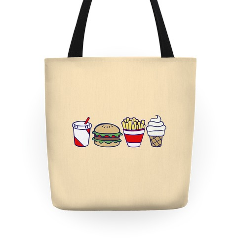 Cute Fast Food Tote