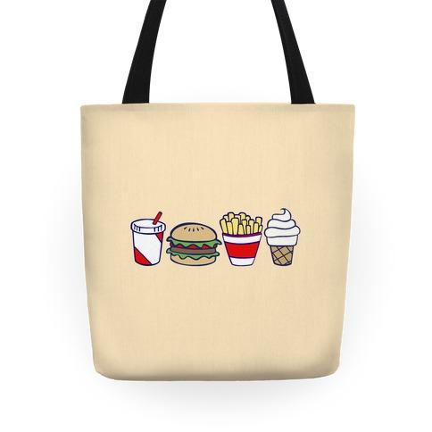 Cute Fast Food Tote