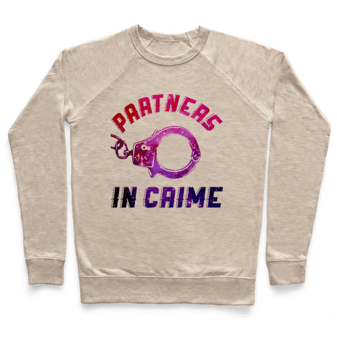 Partners in Crime A (Hoodie) Pullover
