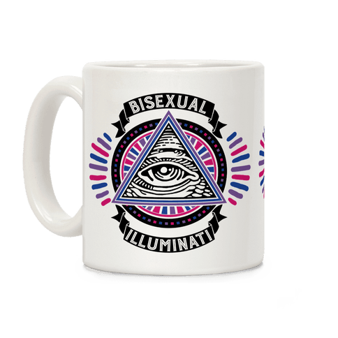 Bisexual Illuminati Coffee Mug