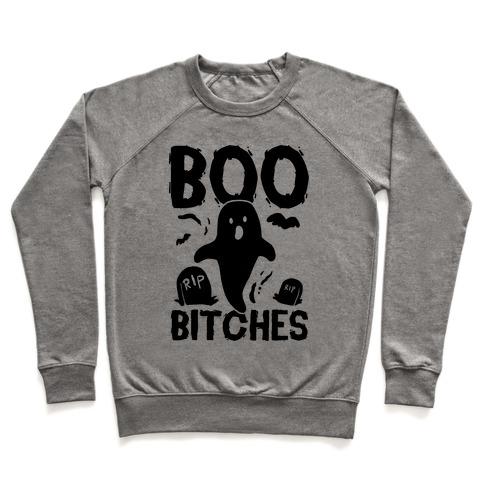 19cda60af Boo Bitches Crewneck Sweatshirt | LookHUMAN