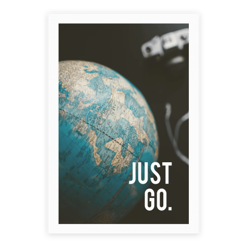 Just Go Poster