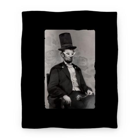Japanese Abraham Lincoln Blanket Blanket