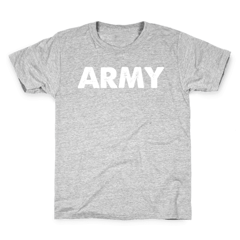Rep the Army Kids T-Shirt