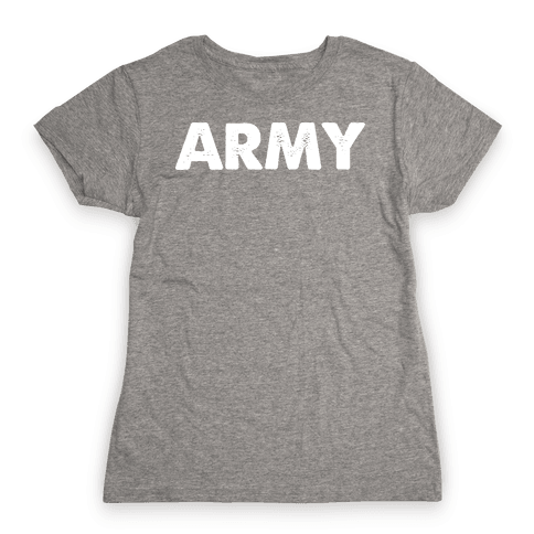 Rep the Army Womens T-Shirt