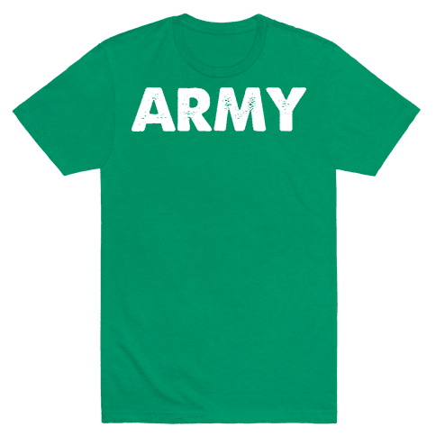 Rep the Army Mens T-Shirt