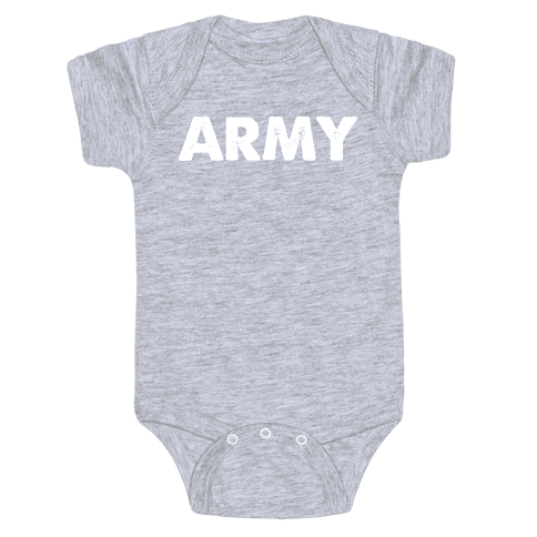 Rep the Army Baby Onesy