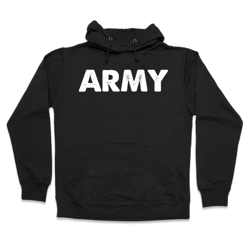 Rep the Army Hooded Sweatshirt
