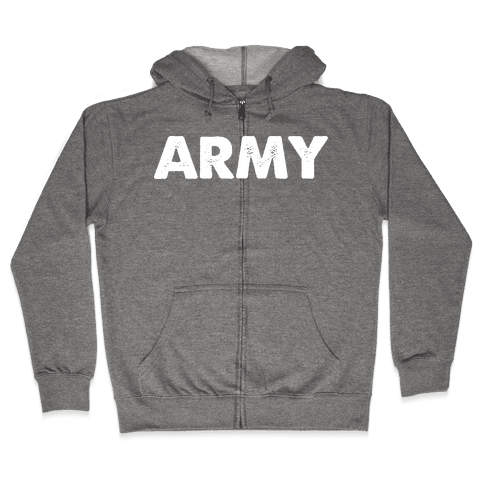 Rep the Army Zip Hoodie