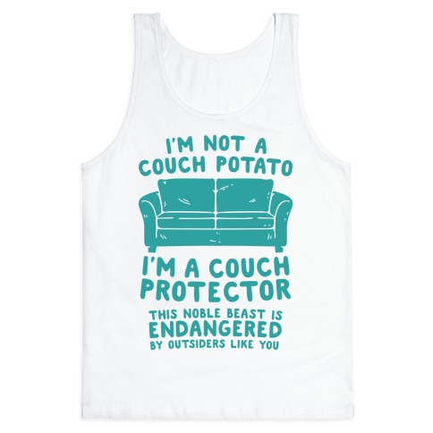 Couch Protector Tank Top