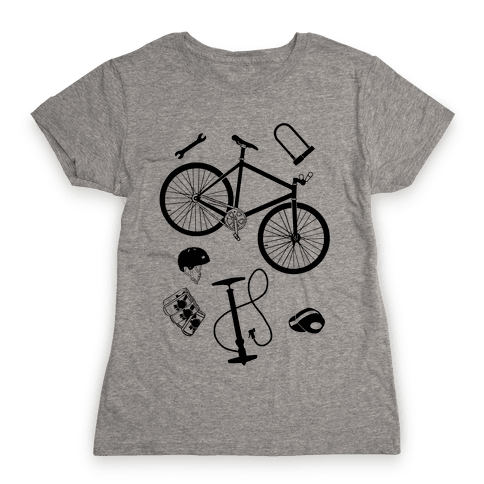 fixed gear cycling tools Womens T-Shirt