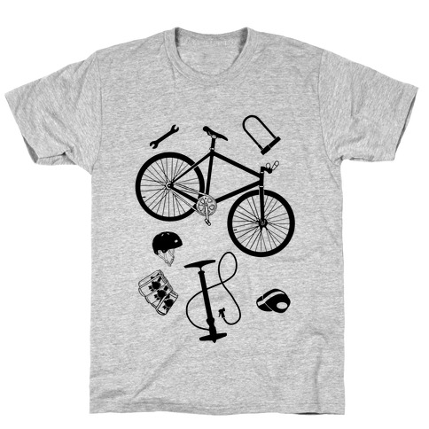 fixed gear cycling tools T-Shirt