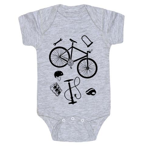 fixed gear cycling tools Baby Onesy