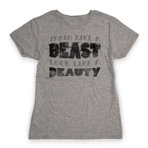 Beast & Beauty Womens T-Shirt