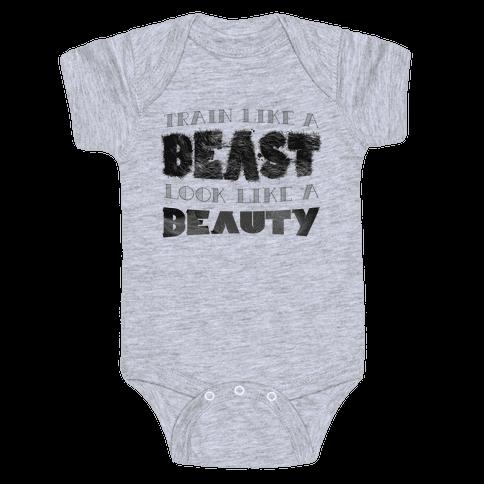 Beast & Beauty Baby Onesy