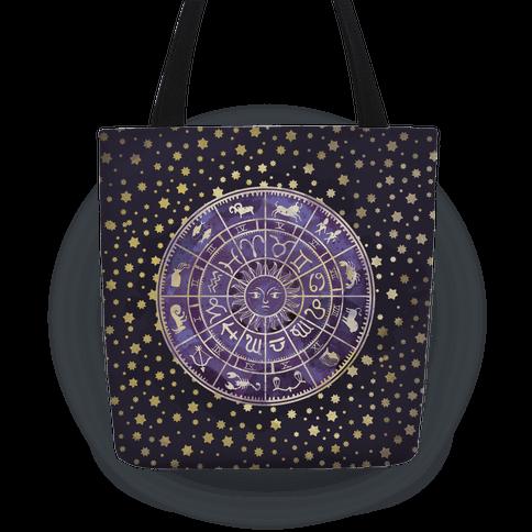 Zodiac Calendar Tote