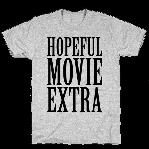 Hopeful Movie Extra Mens T-Shirt