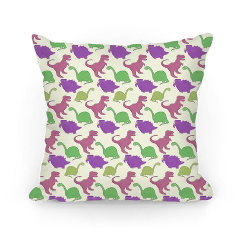 Dinosaur Pattern Pillow