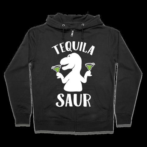 Tequilasaur Zip Hoodie