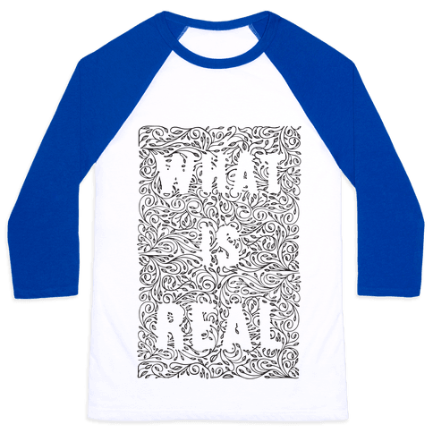 What is Real Baseball Tee