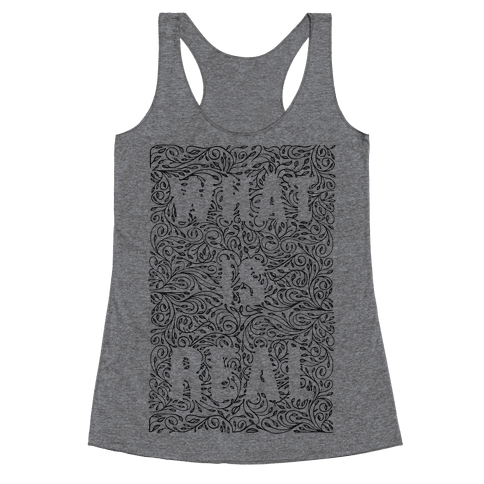 What is Real Racerback Tank Top