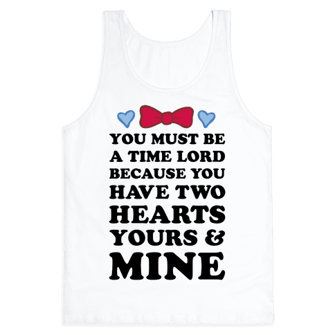 Time Lord Love Tank Top
