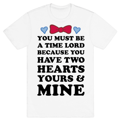 Time Lord Love Mens T-Shirt