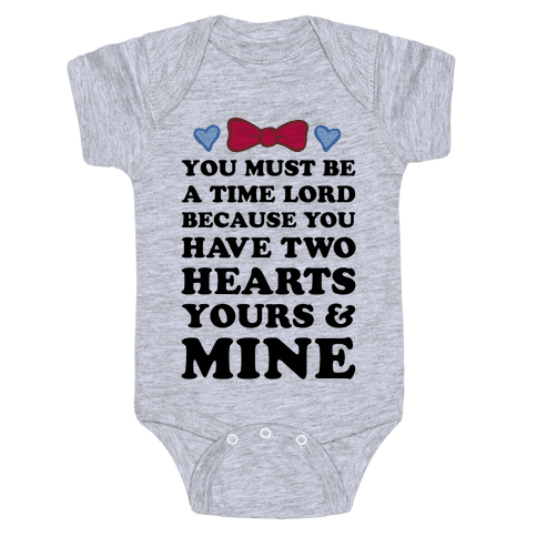 Time Lord Love Baby Onesy
