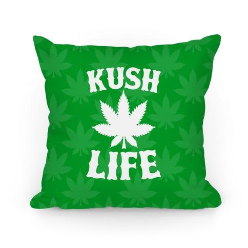 Kush Life (Green) Pillow