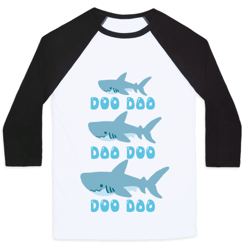 Baby Shark Baseball Tee