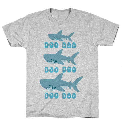 Baby Shark Mens T-Shirt