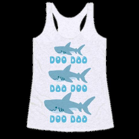 Baby shark racerback tank lookhuman for Baby sharks for fish tanks